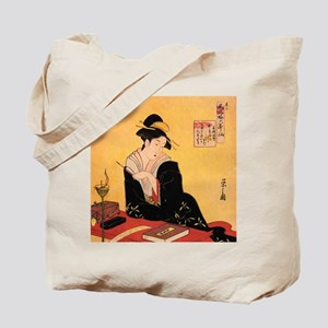Immortal Poets by Chobunsei Eishi Tote Bag