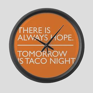 OITNB Taco Large Wall Clock