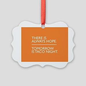 OITNB Taco Picture Ornament