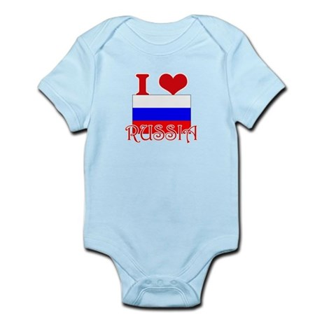 I Love Russia Body Suit
