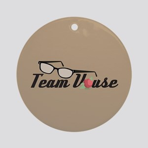 Team Vause Round Ornament