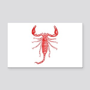 Penny Dreadful Red Scorpion Rectangle Car Magnet