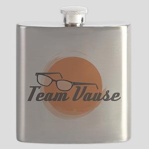Team Vause Orange Flask