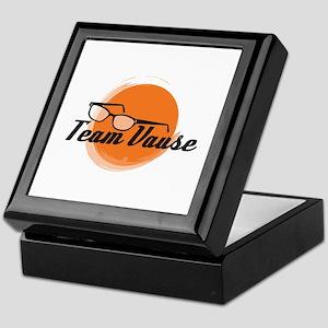 Team Vause Orange Keepsake Box
