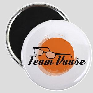 Team Vause Orange Magnet