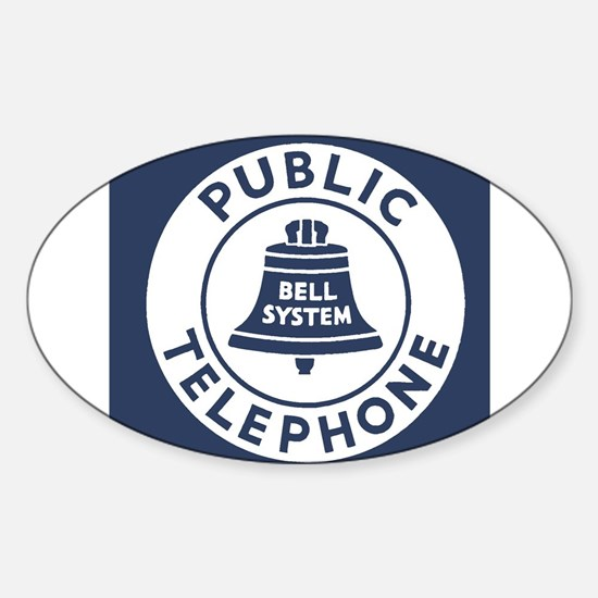 Bell Telephone Background- Logo Decal