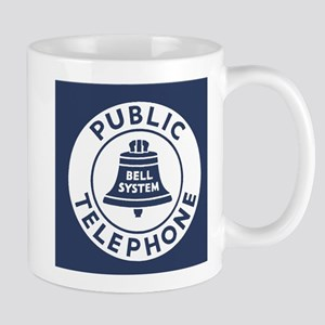 Bell Telephone Background- Logo Mugs