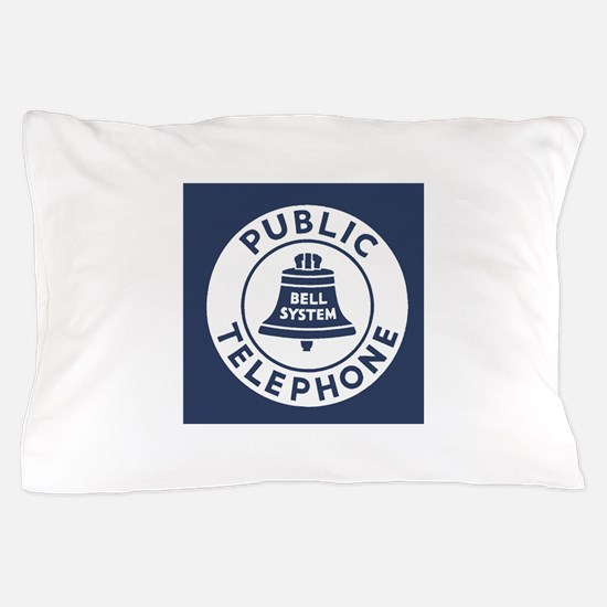 Bell Telephone Background- Logo Pillow Case