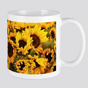 sunflowers at Almaden valley Art and Wine fes Mugs