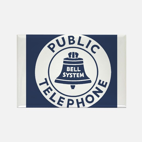 Bell Telephone Background- Logo Magnets