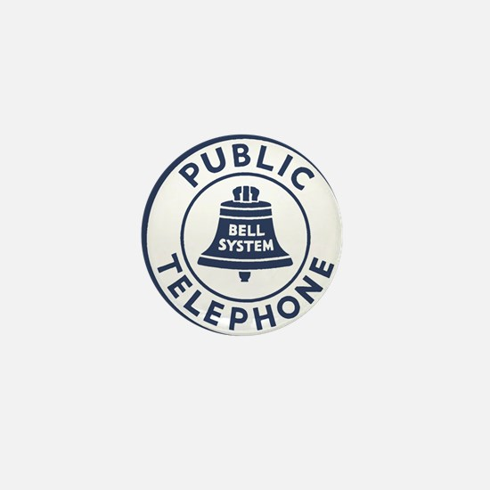 Bell Telephone Background- Logo Mini Button