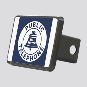 Bell Telephone Background- Rectangular Hitch Cover