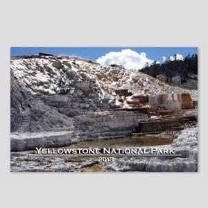Mammoth Hot Springs, YNP Postcards (Package of 8)