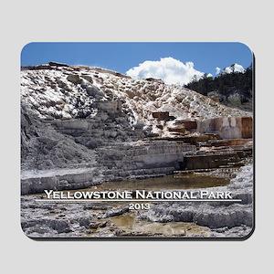 Mammoth Hot Springs, YNP Mousepad