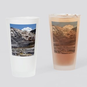 Mammoth Hot Springs, YNP Drinking Glass