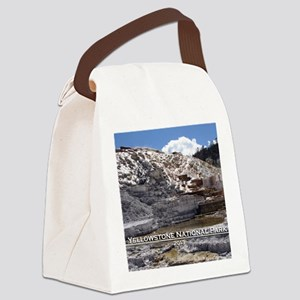Mammoth Hot Springs, YNP Canvas Lunch Bag