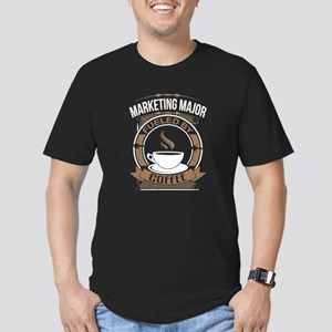 Marketing Major Fueled By Coffee T-Shirt