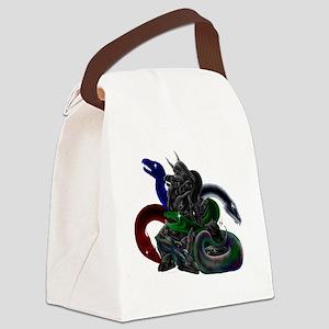 5-Color Evil Dark Dragon Takhisis Canvas Lunch Bag