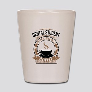 Dental Student Fueled By Coffee Shot Glass