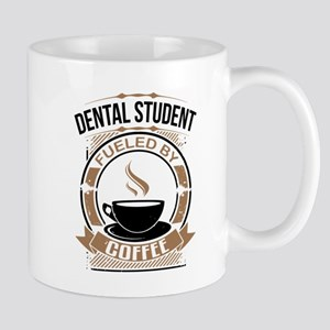 Dental Student Fueled By Coffee Mugs