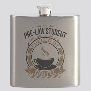 Pre-Law Student Fueled By Coffee Flask