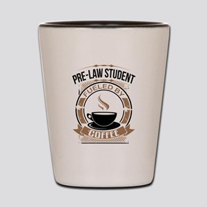 Pre-Law Student Fueled By Coffee Shot Glass