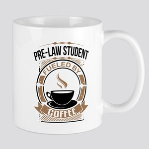 Pre-Law Student Fueled By Coffee Mugs