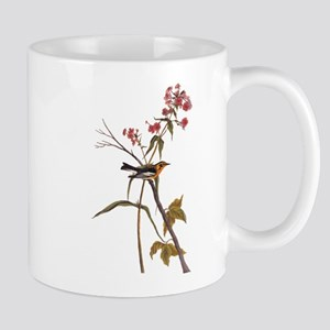 Blackburnian Warbler Bird Vintage Audubon Art Mugs