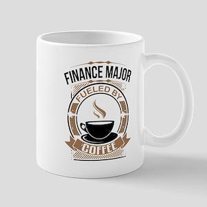 Finance Major Fueled By Coffee Mugs