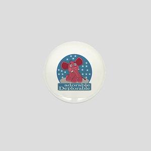 Deplorables for Trump Mini Button