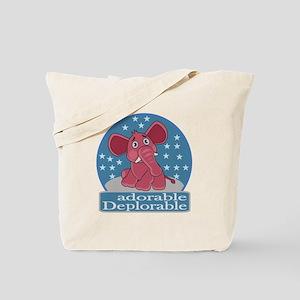 Deplorables for Trump Tote Bag