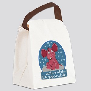 Deplorables for Trump Canvas Lunch Bag