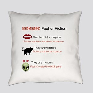 Redheads fact or fiction Everyday Pillow