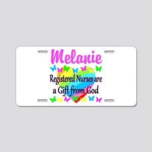 RN NURSE FAITH Aluminum License Plate