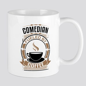 Comedian Fueled By Coffee Mugs