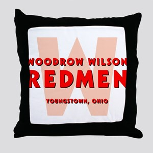 Wilson Redmen Throw Pillow