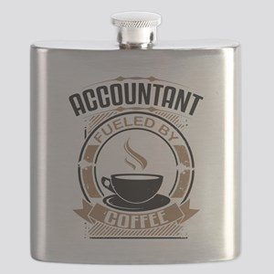 Accountant Fueled By Coffee Flask