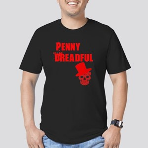 penny dreadful top Men's Fitted T-Shirt (dark)