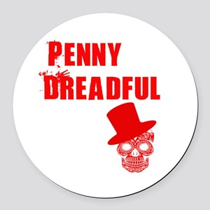 penny dreadful top Round Car Magnet