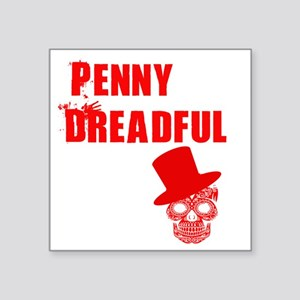 "penny dreadful top Square Sticker 3"" x 3"""