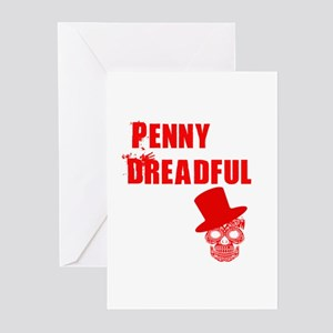penny dreadful top Greeting Cards (Pk of 10)