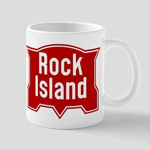 Rock Island Railway logo Mugs