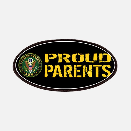 U.S. Army: Proud Parents (Black & Gold) Patch
