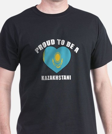 Kazakhstani Patriotic Designs T-Shirt
