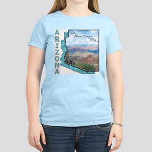 Arizona - Grand Canyon State Ash Grey T-Shirt