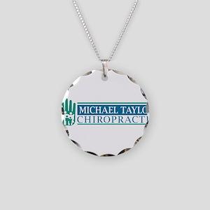 MTC Logo Necklace Circle Charm