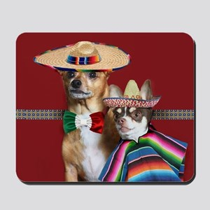 Mexican Chihuahua Dogs Mousepad