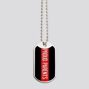 Firefighter: Proud Parents (The Thin Red Dog Tags