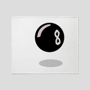 Magic 8 Ball Throw Blanket