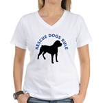 RDR Rotti Women's V-Neck T-Shirt